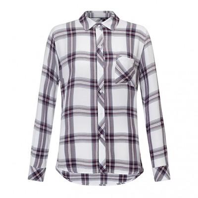 rails-hunter-shirt-white-scarlet-skjorte-overdel
