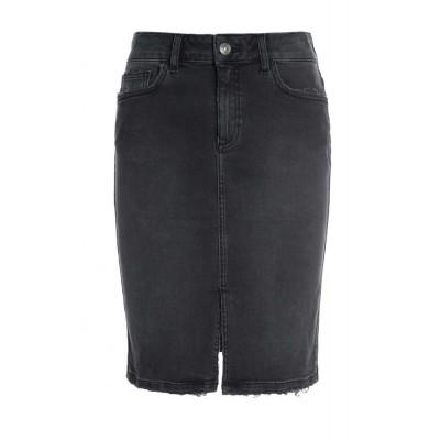 Raiine-copenhagen-marcy-jeans-nederdel-grå