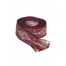 bands-of-la-surfcore-baelte-bordeaux-orange-beige-lyserod-accessories