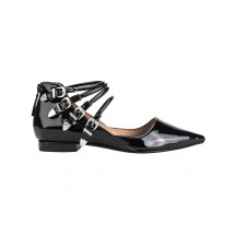 toga-pulla-patent-black-silver-sandal-aj838