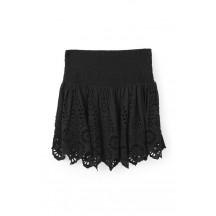 ganni-Emile-blonde-nederdel-sort-f1803