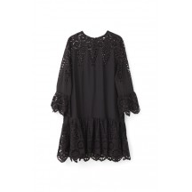 ganni-emile-blonde-kjole-sort-f1909