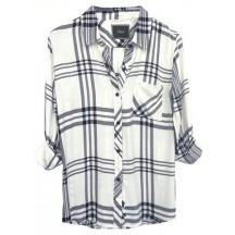 rails-hunter-tencel-shirt-white-black-charcoal-skjorte-overdel