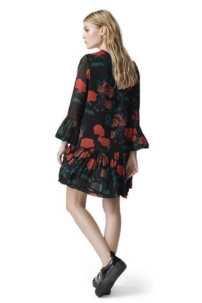 løs kjole kimono