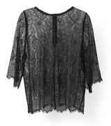 GANNI - F1261 California Lace Bluse