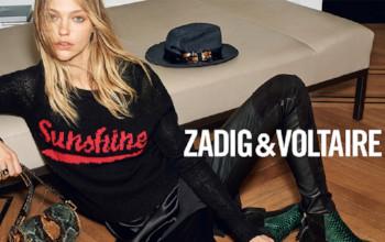Zadig & Voltaire Modetøj og tasker til kvinder og piger.