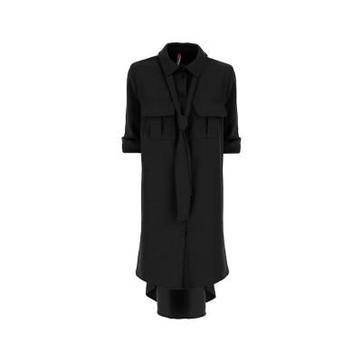 Imperial-skjorte-kjole-sort-AACVZFI