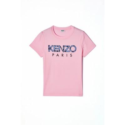 kenzo-t-shirt-logo-pastel-pink-overdel-f952ts721990