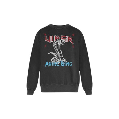 anine-bing-sweatshirt-vintage-black-slange-overdel