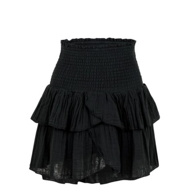 Neo noir-carin-gauze-nederdel-sort-152461