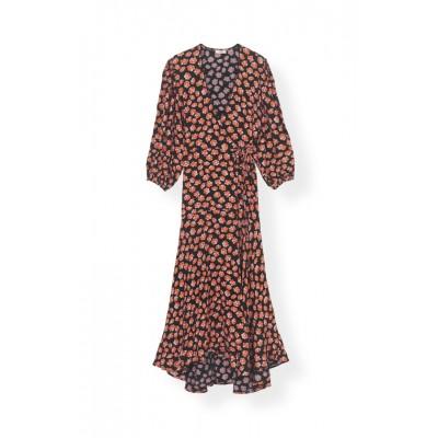 18f3275e31eb ganni-printed-crepe-kjole-rod-f2902