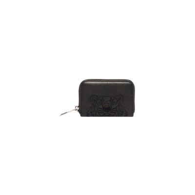 Kenzo-pung-sort-læder-logo-F965PM326L49