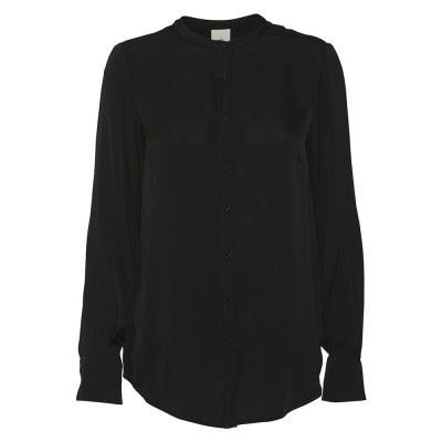 julie-fageholt-heartmade-maple-basic-silke-skjorte-sort-overdel-999-627-900