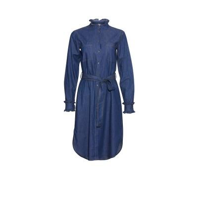 Heartmade-helina-skjorte-kjole-blå-203-425-035