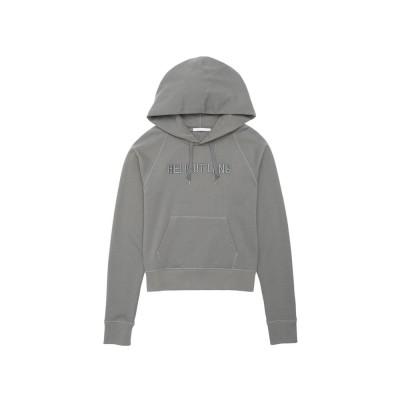 Helmut-lang-slim-monogram-hoodie-overdel-grå-J07DW503
