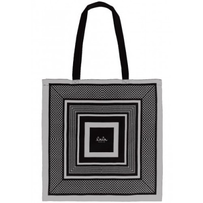 lala-berlin-cotton-bag-kufiya-print-black-silver-taske-accessories