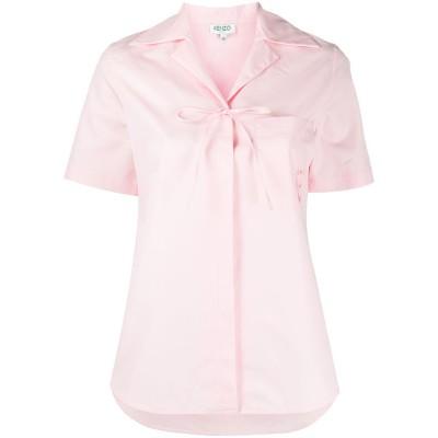 kenzo-skjorte-lyserød-overdel-FA52CH0245AP