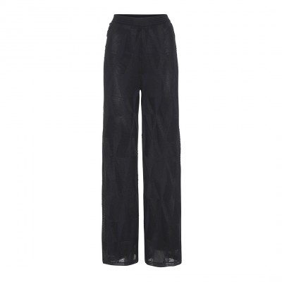 sorte bukser med vidde
