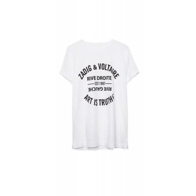 zadig-et-voltaire-blason-t-shirt-hvid-overdel-shts1802f