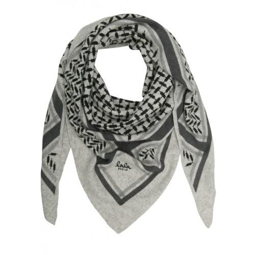 lala berlin tørklæde grå