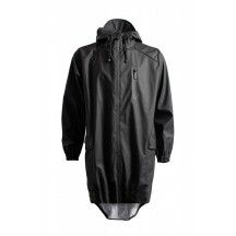Rains-Parka-coat-black-regnfrakke-1233