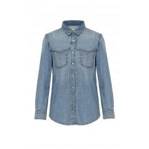 Anine-bing-luke-skjorte-blå-denim-A-07-9055-435