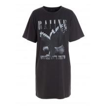 raiine-darvill-t-shirt-kjole-overdel-morkegra