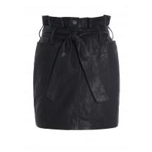 raiine-akutan-læder-nederdel-sort