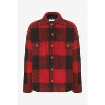 anine-bing-bobbi-jakke-skjorte-red