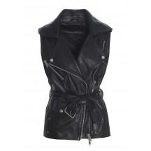 raiine-syracuse-læder-vest-sort