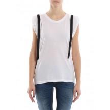 dondup-canotta-t-shirt-overdel-hvid-s825