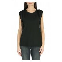 dondup-canotta-t-shirt-overdel-sort-s825