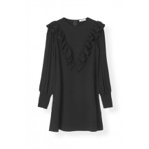 ganni-heavy-crepe-kjole-sort-f2983