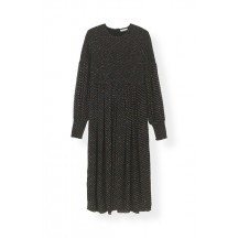 ganni-printed-georgette-smock-kjole-sort-f3049