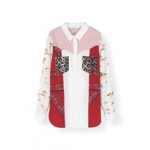 Ganni-mixed-cotton-poplin-skjorte-overdel-f3071