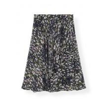 ganni-printed-georgette-nederdel-sort-f3520