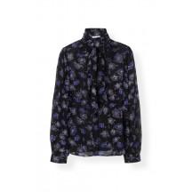 ganni-printed-georgette-skjorte-black-f3776