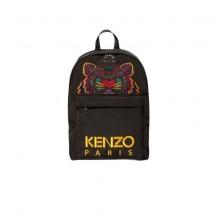 kenzo-tiger-rygsaek-taske-sort-gul-f855sf300f20