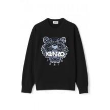 kenzo-tiger-logo-sweatshirt-overdel-sort-fb52sw8244xa