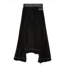 Helmut-lang-kontrast-nederdel-sort-I06HW305