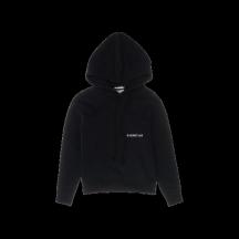 Helmut-lang-hoodie-sort-overdel-K10DW204