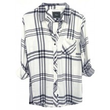 rails-hunter-tencel-shirt-white-black-charcoal-skjorte-overdel