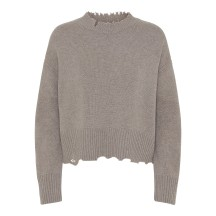 helmut-lang-distressed-strik-sweater-overdel-beige-i01hw511