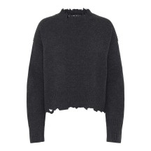 helmut-lang-distressed-strik-sweater-overdel-gra-i01hw511