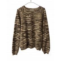 ragdoll-la-oversized-sweatshirt-zebra-brun-overdel-s236