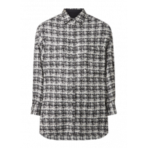 iro-delmore-skjorte-jakke-hvid-sort-21SWM100DELMORE