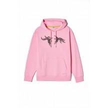 kenzo-hoodie-pink-overdel-f952sw883952