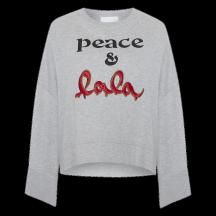 lala-berlin-insa-sweatshirt-overdel-grå-1196-CK-1005