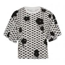 Lala-berlin-t-shirt-viola-hvid-overdel-1176-WO-1005