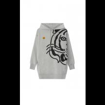 Kenzo-hoodie-kjole-grå-FB62RO8074MO